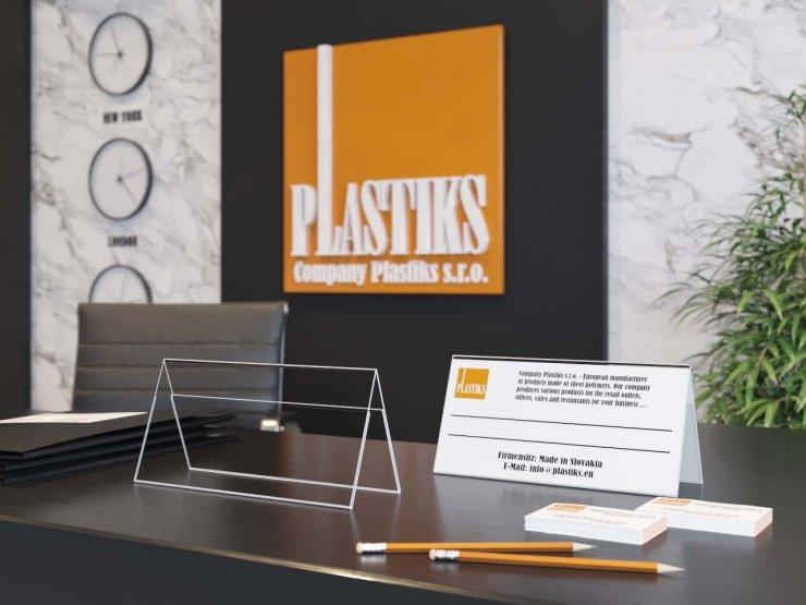 Plastové menovky, Menovky na stôl, Svadobné menovky, informačné tabule, plastové štítky
